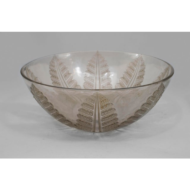 Art Deco French Art Deco Cut Crystal Bowl For Sale - Image 3 of 3