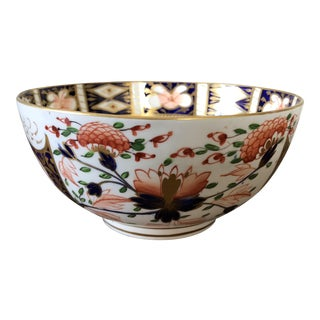 19th Century English Imari Porcelain Bowl