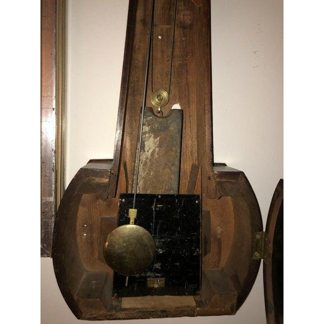 19th Century Massachusetts Banjo Clock For Sale - Image 4 of 7