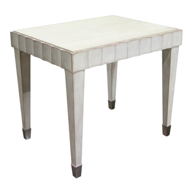 Fremarc Designs Beverly Side Table For Sale