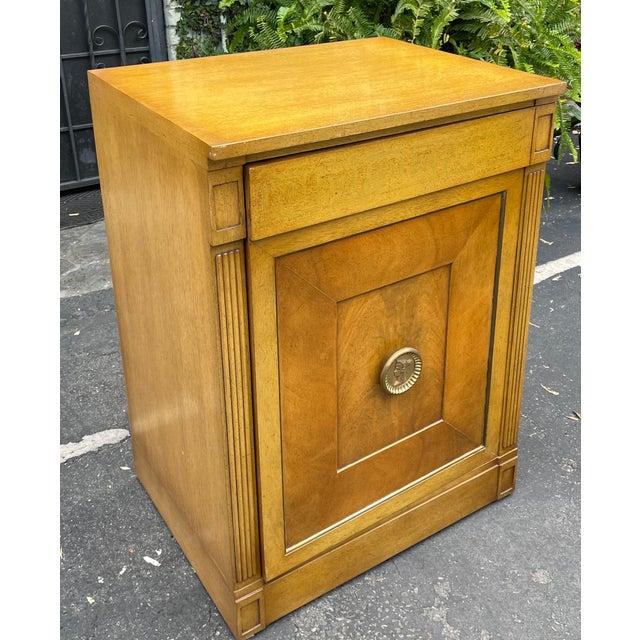 1950s Rare Grosfeld House Hollywood Regency Mid Century Modern Empire Low Secretary Desk Cabinet For Sale - Image 5 of 6
