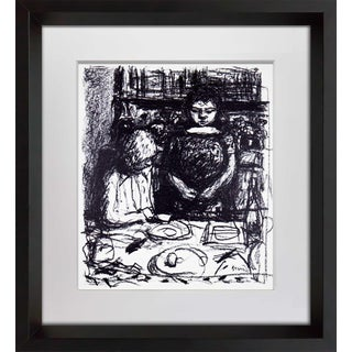 Pierre Bonnard Le Menu Framed Lithograph