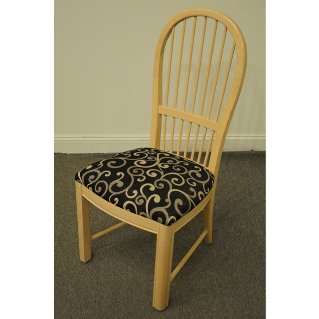 Thomasville Furniture Windrift Collection Dining Side Chair For Sale - Image 10 of 10