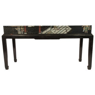 1970s Asian 2-Drawer Console For Sale