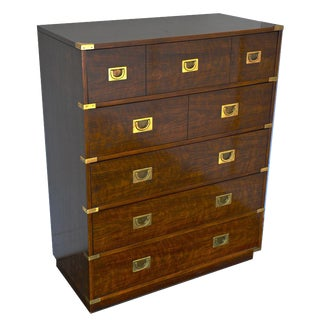 Drexel Mid-Century Campaign Chest of Drawers