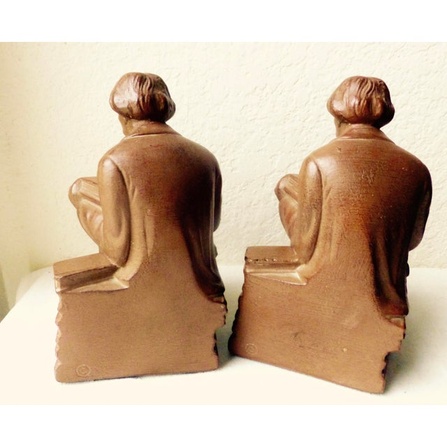 Elbert Hubbard Bookends - Image 10 of 11