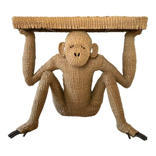 Mario Lopez Torres Monkey Console Table For Sale