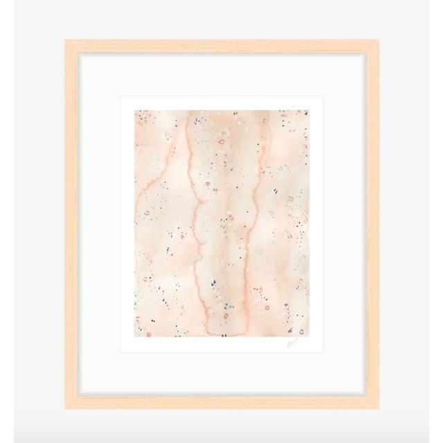 "Pink Sands II - Watercolor Print - 11"" X 14"" - Image 2 of 4"
