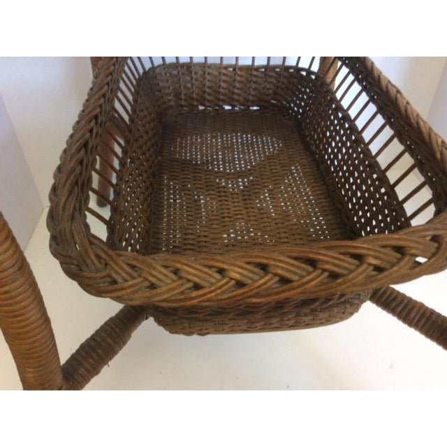 Rattan Basket Stand - Image 7 of 11