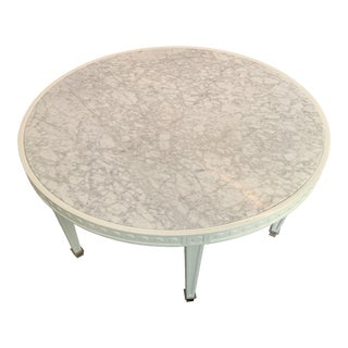 Contemporary Jonathan Adler Round Coffee Table For Sale
