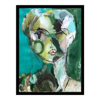 "Medium ""Brynn"" Print by Leslie Weaver, 19"" X 24"" For Sale"