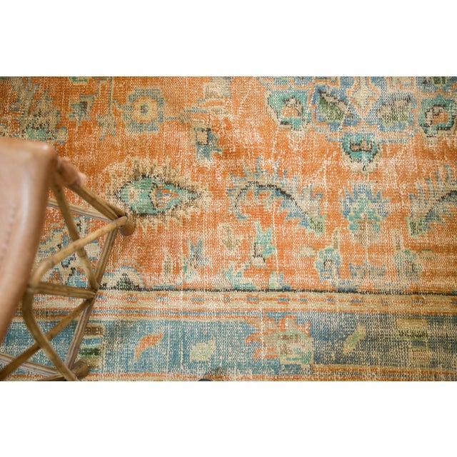 "Vintage Distressed Oushak Carpet - 6'4"" X 9'3"" For Sale - Image 12 of 13"