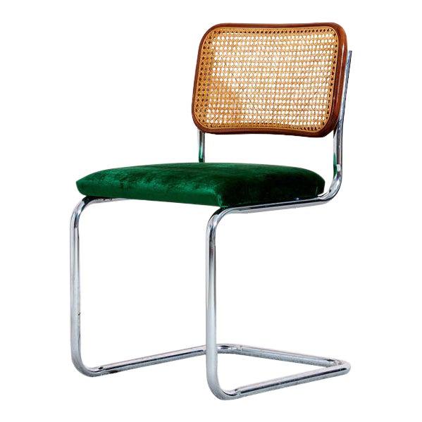 Vintage Cesca Chair by Marcel Breuer For Sale