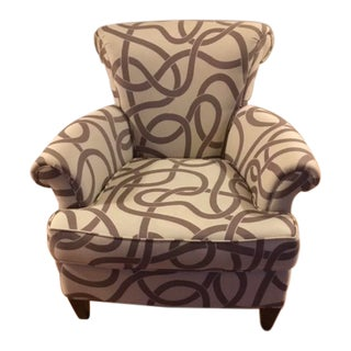 Modern Precedent Contemporary Accent Chair For Sale