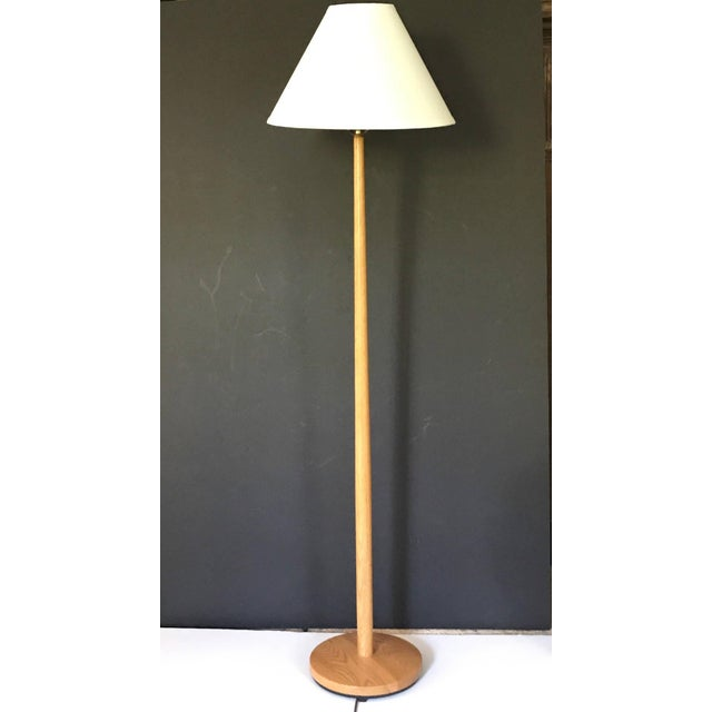 George kovacs oak wood floor lamp chairish george kovacs oak wood floor lamp image 2 of 5 aloadofball