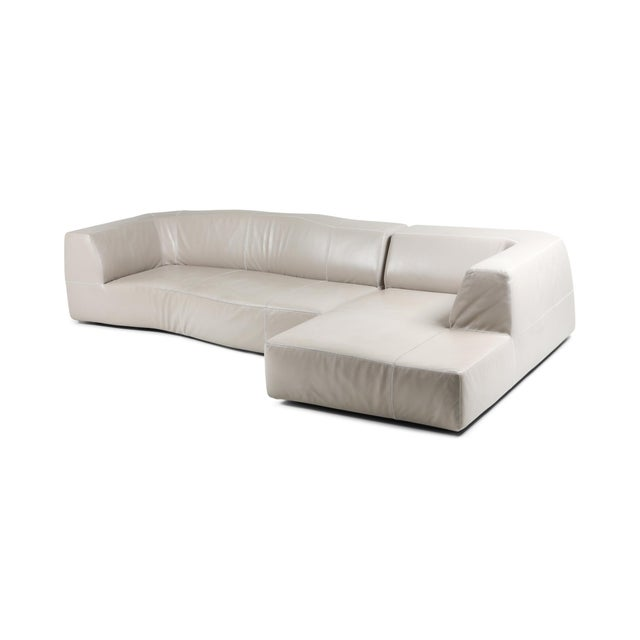 Leather B&b Italia Sectional Couch 'Bend' by Patricia Urquiola For Sale - Image 7 of 7