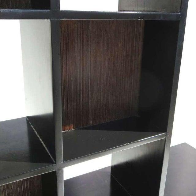 Paul Frankl 1950s Paul Frankl Stepped Room Divider Cabinet For Sale - Image 4 of 8