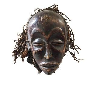 Chokwe, Angola, D.of the Congo Zambia Female Mask For Sale