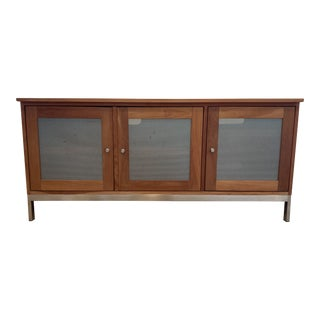 Room and Board Media Storage Cabinet For Sale