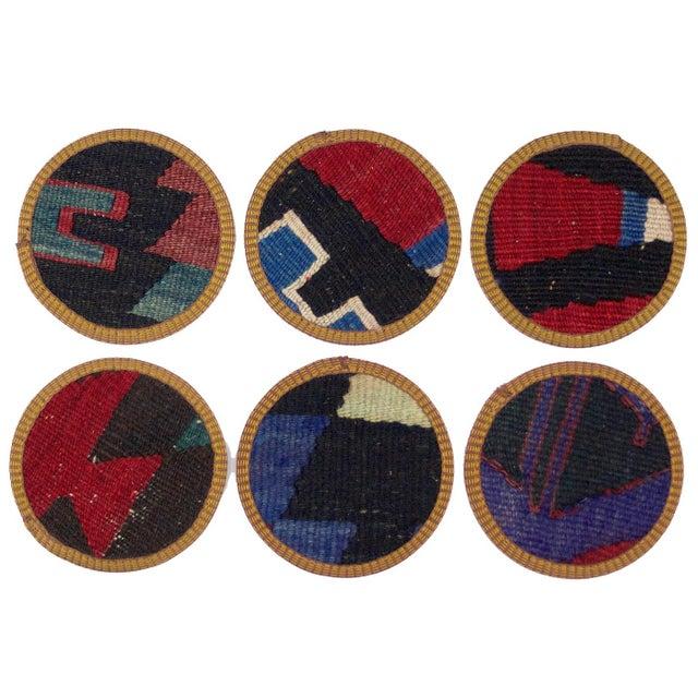 Pinar Kilim Coasters - Set of 6 - Image 2 of 2