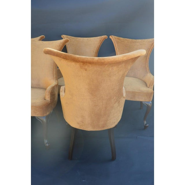 Wood Randall Tysinger for Ej Victor Armchairs - Set of 6 For Sale - Image 7 of 9