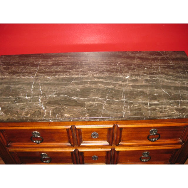 Ethan Allen Tuscany Bonner Console Table - Image 3 of 11