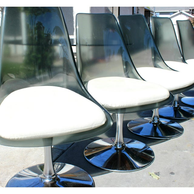 Mid-Century Modern 1970s Vintage Chromecraft Space Age Dining Set For Sale - Image 3 of 6