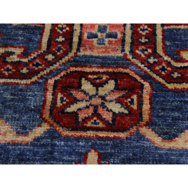 2000 - 2009 Slyvia Hand-Knotted Wool Rug - 2′7″ × 6′4″ For Sale - Image 5 of 8