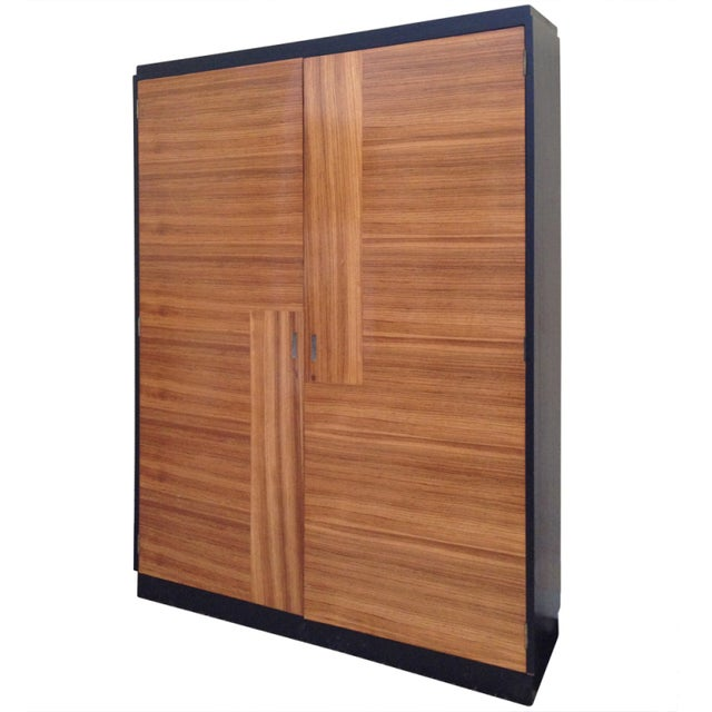 Rosewood Art Deco French Cabinet - Image 1 of 8