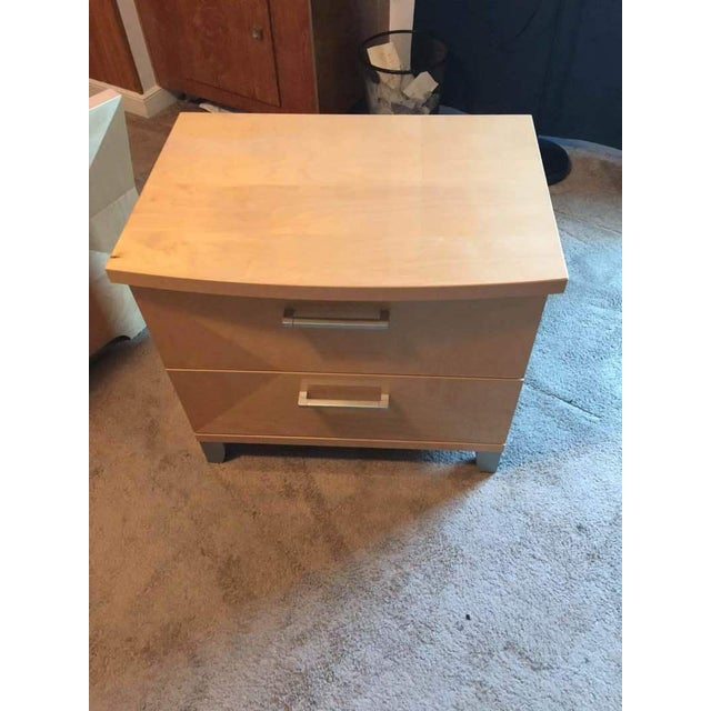 Brown Alf Design Group Two-Drawer Night Stand For Sale - Image 8 of 9