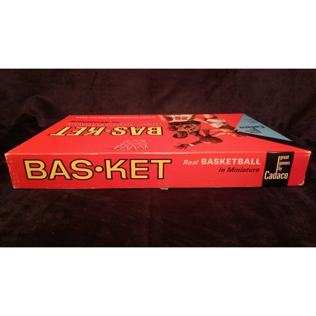 1966 Cadaco Bas-Ket Basketball Board Game - Image 8 of 11