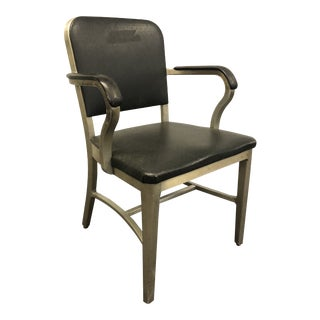 Vintage Industrial Aluminum Office Chair - Goodform by General Fireproofing For Sale
