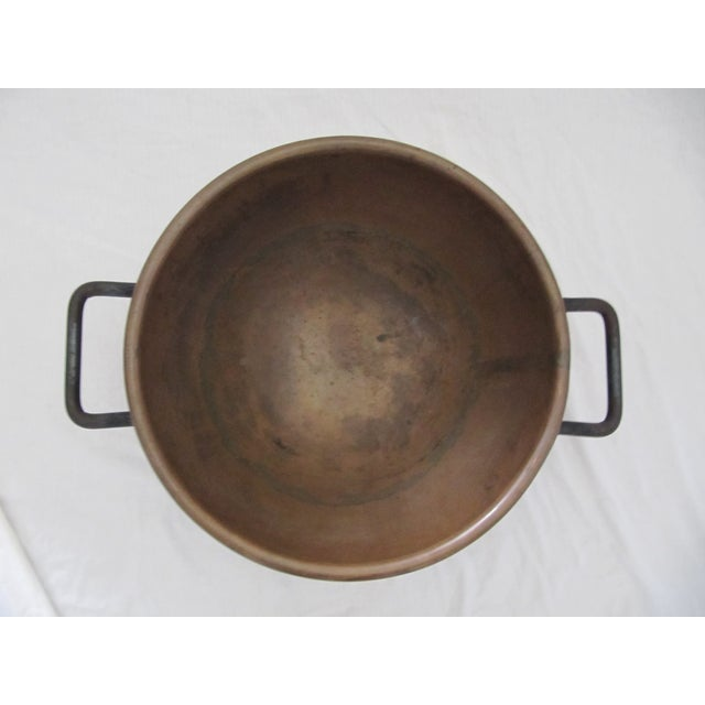 Brown Copper Candy Cauldron For Sale - Image 8 of 9