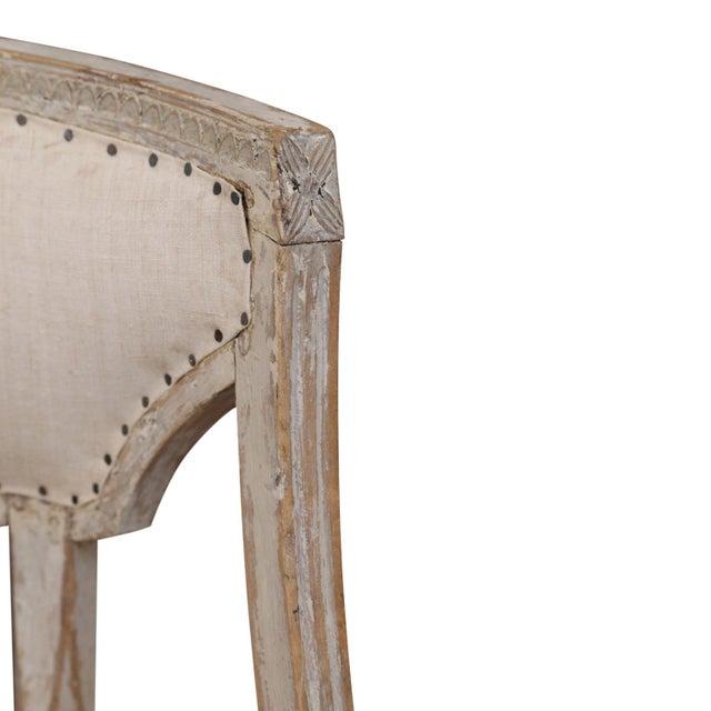 Gustavian (Swedish) Pair of 19th Century Swedish Armchairs For Sale - Image 3 of 9