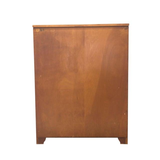 Mid Century Modern Tall Dresser by John Stuart for Johnson Furniture For Sale - Image 11 of 13