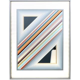 "Sonny Zoback ""Solitude Ii"" Serigraph 1984 For Sale"