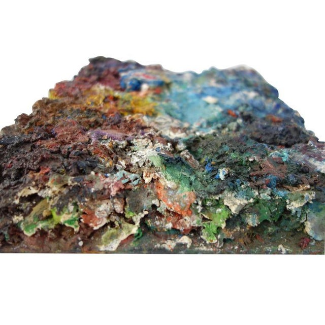 Vintage Artist's Paint Palette For Sale In Seattle - Image 6 of 8