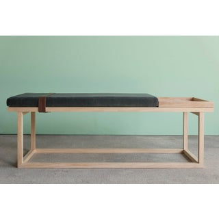 Ebb and Flow Tray Bench in Charcoal Grey Preview