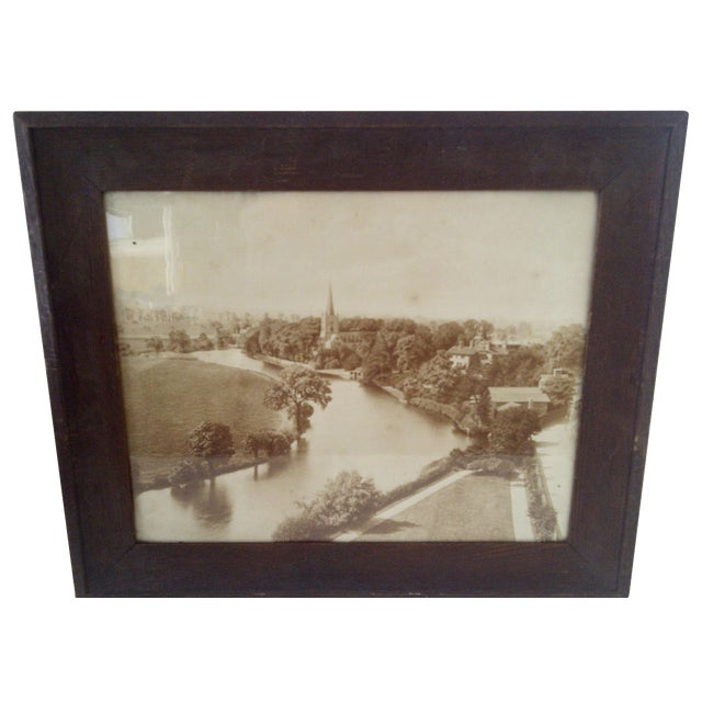 Vintage American River Town Photography For Sale