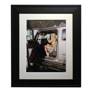 """Paris Hilton Nude With Tinkerbell"" Original Photograph, Signed For Sale"