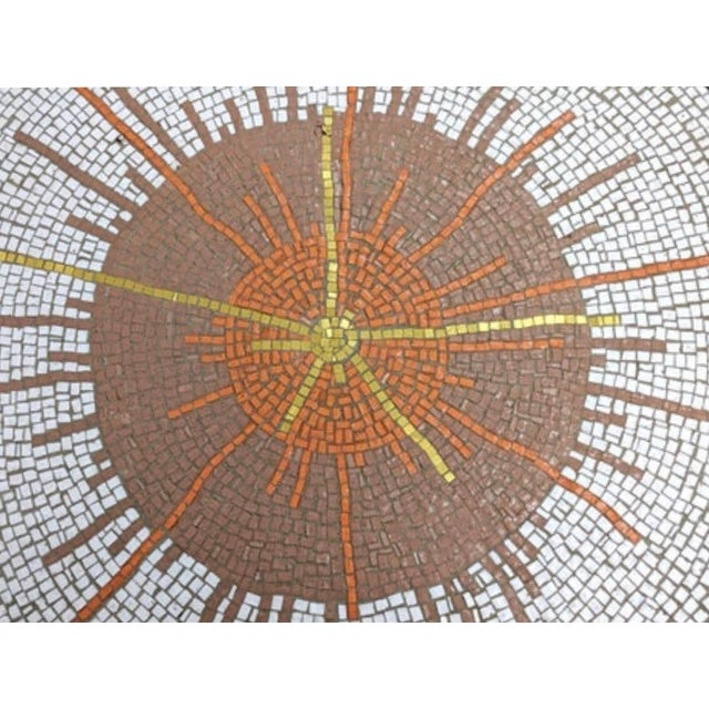 Mid 20th Century Mid Century Modern Mosaic Coffee Table For Sale - Image 5 of 9