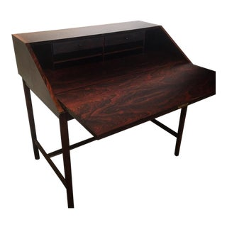 Mid-Century Torbjørn Afdal Rosewood Secretary Desk For Sale