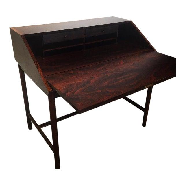 Mid-Century Torbjørn Afdal Rosewood Secretary Desk For Sale