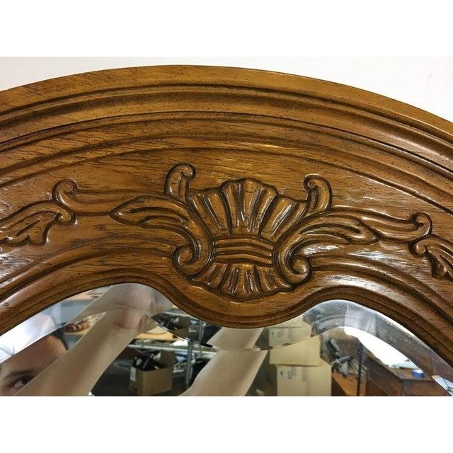Vintage Thomasville Carved Wood French Provincial 'Court Triple' Dresser - Image 8 of 11
