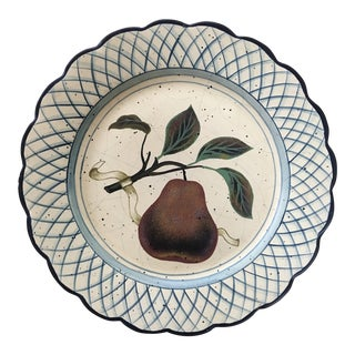 Raymond Waites for Toyo Pear Wall Plate For Sale