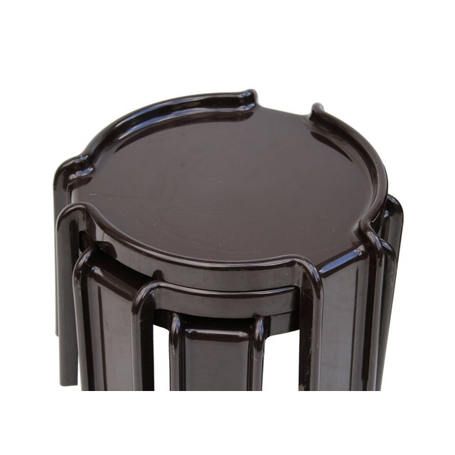 Giotto Stoppino Stacking Tables - Set of 3 - Image 2 of 7