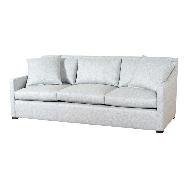 EJ Victor Upholstered Modern Shelby Sofa For Sale