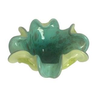 Mid-Century Murano Glass Dish