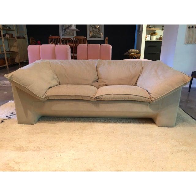 Textile Vintage Danish Niels Eilersen Sofa -A Pair For Sale - Image 7 of 11