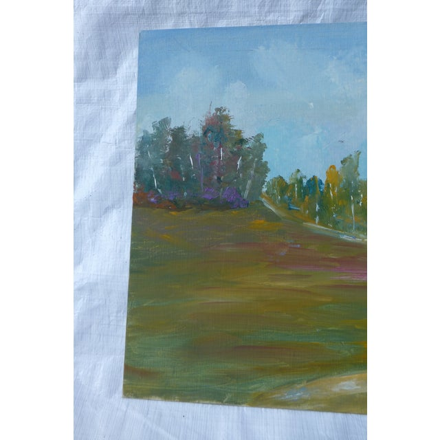 MCM Painting Autumn Path H.L. Musgrave - Image 3 of 6